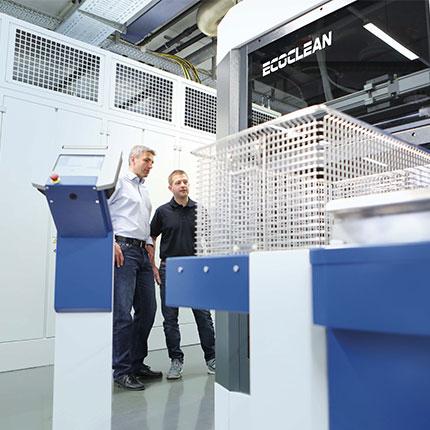 Testovací centra Ecoclean