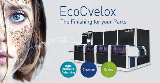 EcoCvelox – víceúčelový systém pro odjehlování a čištění